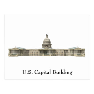 US Capital Building: Washington DC Postcard