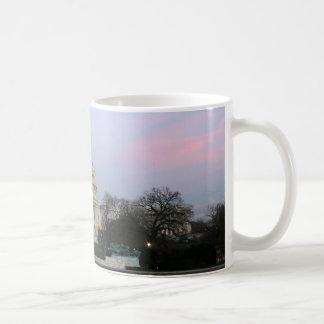 US Capitol at winter dusk Coffee Mug