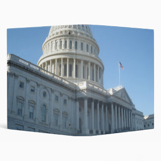 US Capitol Building 3 Ring Binder