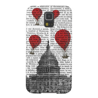 US Capitol Building and Red Hot Air Balloons Case For Galaxy S5