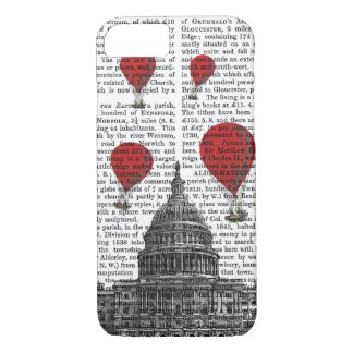 US Capitol Building and Red Hot Air Balloons iPhone 7 Case