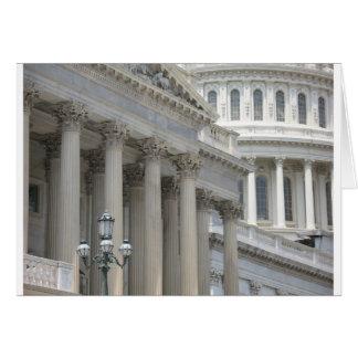 us capitol building architecture card