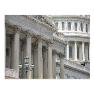 us capitol building architecture postcard