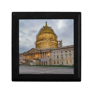 US Capitol Building at Dusk Jewelry Box