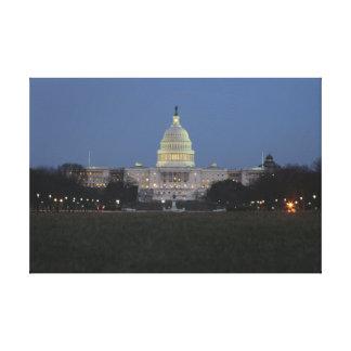 US Capitol Building Canvas Prints
