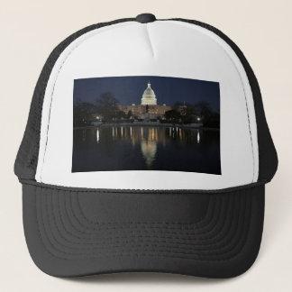 US Capitol Building Night Trucker Hat