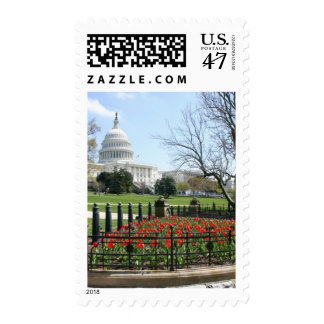 US Capitol building spring Postage
