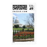 US Capitol building spring Postage Stamps