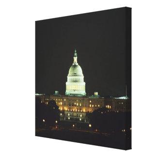 US Capitol Building, United States Congress, Canvas Print