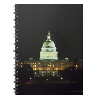 US Capitol Building, United States Congress, Spiral Notebook