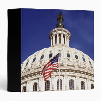 US capitol building, Washington DC 3 Ring Binder