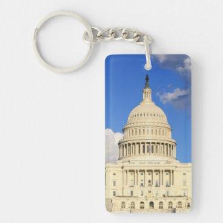 US Capitol Building, Washington DC, USA Keychain
