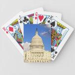 US Capitol Building, Washington DC, USA Bicycle Poker Deck