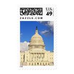 US Capitol Building, Washington DC, USA Postage Stamp