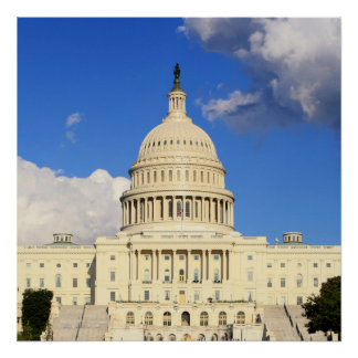US Capitol Building, Washington DC, USA Poster