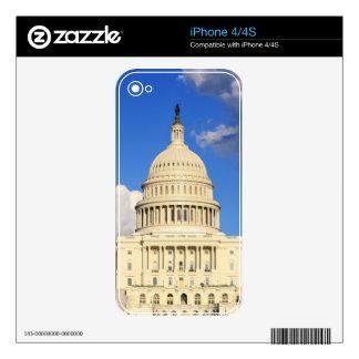 US Capitol Building, Washington DC, USA iPhone 4 Decals