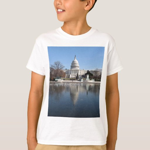 US Capitol building winter  picture T-Shirt