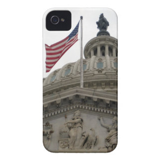 US Capitol Building with American Flag - East Case-Mate iPhone 4 Case