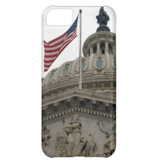 US Capitol Building with American Flag - East Cover For iPhone 5C