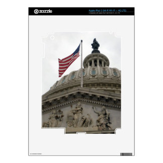 US Capitol Building with American Flag - East iPad 3 Skin