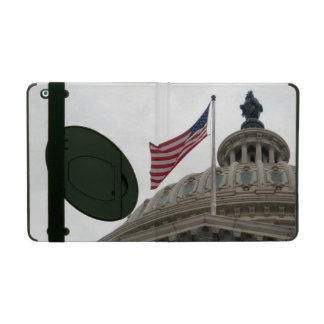 US Capitol Building with American Flag - East iPad Case