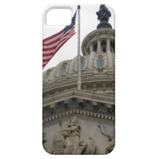 US Capitol Building with American Flag - East iPhone SE/5/5s Case