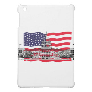 US Capitol Building with American Flag iPad Mini Cases