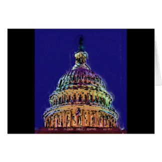 US Capitol dome Card