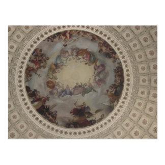 US Capitol Dome Postcard