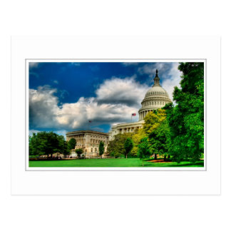 US Capitol Grounds and Dome Postcard