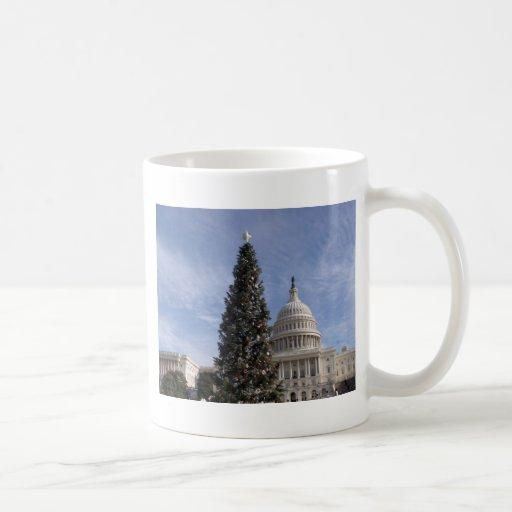US Capitol Hill christmas tree Coffee Mug