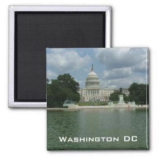 US Capitol 2 Inch Square Magnet