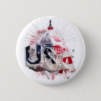 US CAPITOL PINBACK BUTTON