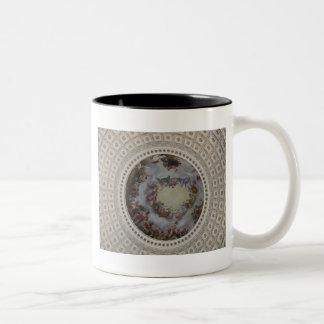 US Capitol Rotunda The Apotheosis Washington DC Two-Tone Coffee Mug