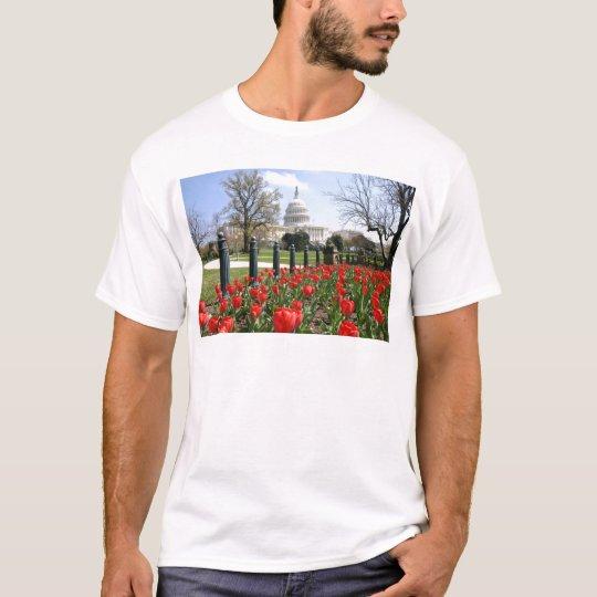US Capitol spring flower T-Shirt