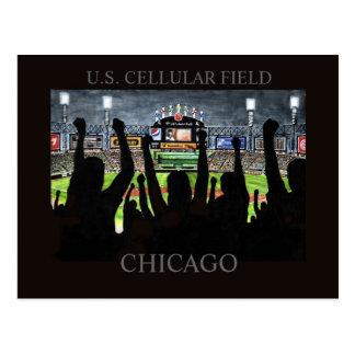 US Cellular Field Randsom Art Postcard