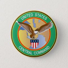 US Central Command CENTCOM Button