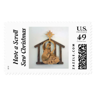 US Christmas stamp