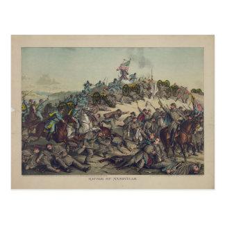 US Civil War: Battle of Nashville Postcard