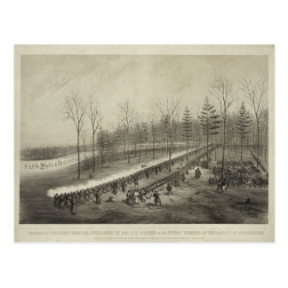 US Civil War: Battle of Stone River Postcard