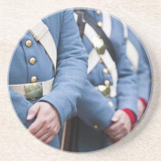 US Civil War-era Marines, military Drink Coaster