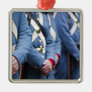 US Civil War-era Marines, military Metal Ornament