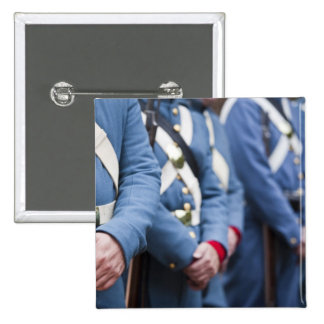 US Civil War-era Marines, military Pinback Button