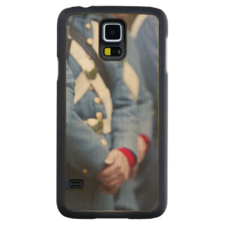 US Civil War-era Marines, military Carved® Maple Galaxy S5 Slim Case
