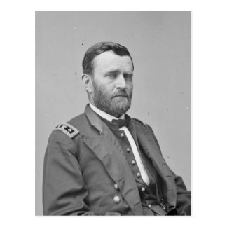 US Civil War: General Ulysses S Grant Postcard