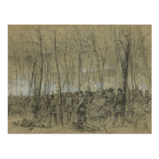 US Civil War: The Wilderness Postcard