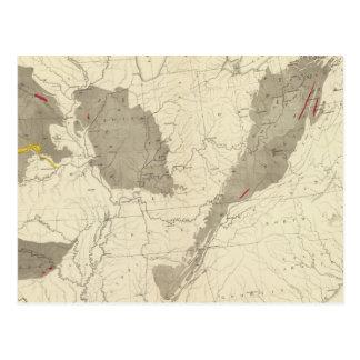 US Coal Fields Postcard