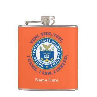 US Coast Guard Academy Flask