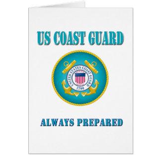 US Coast Guard Always Prepared Card