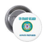 US Coast Guard Always Prepared Pins
